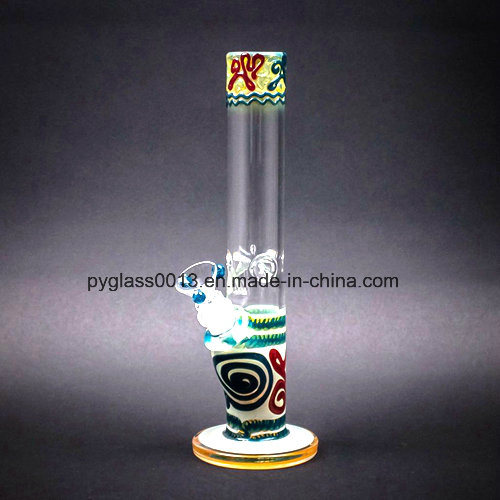 Hot Sale Beautiful Design 9mm Thickness Glass Smoking Water Pipe pictures & photos