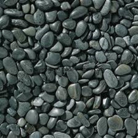 Black Loose Pebble Decoration
