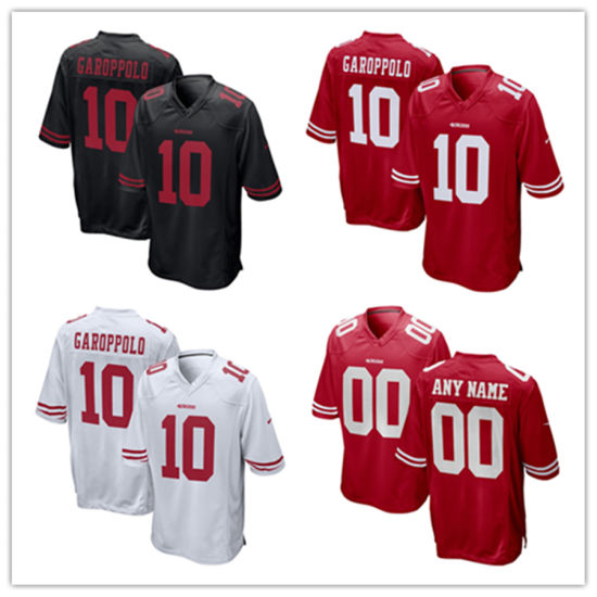 China Men Women Youth 49ers Jerseys 10 Jimmy Garoppolo Football ... 4a4f222cb6