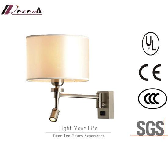 Hotel Living Room Bedside LED Reading Wall Lamp