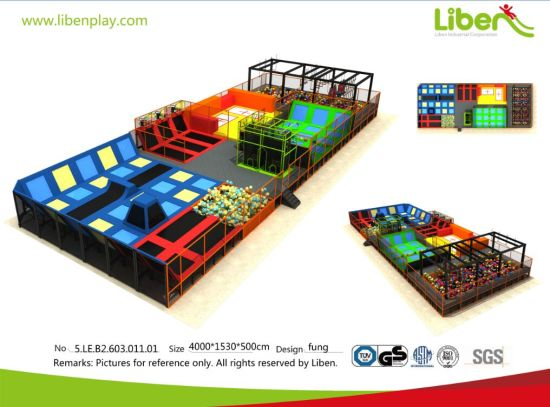 Dreamland Big Commercial Indoor Trampoline Park USA Trampoline Park pictures & photos