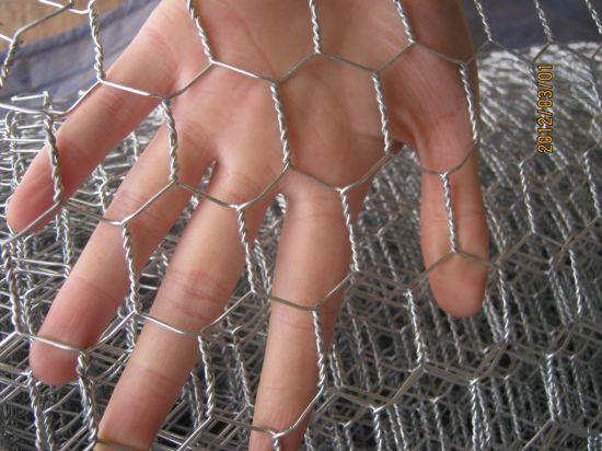 1/2 Galvanized Hexagonal Mesh Chicken Wire Mesh Poultry Wire Mesh