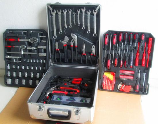 Hot Sale-Professional 186PCS Kraft Tools Set with Aluminium Case