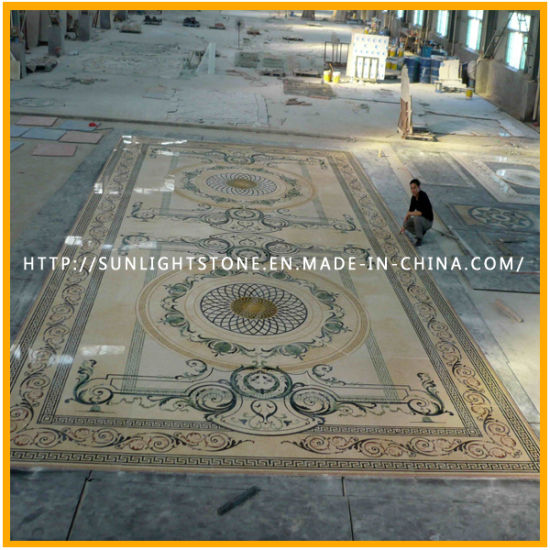 Natural Stone Mosaic / Marble Mosaic Tiles / Marble Mosaic Medallion Pattern pictures & photos
