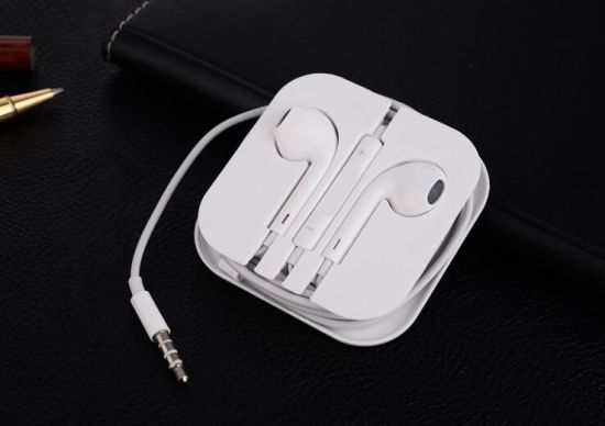 Colorful Mic Volume Remote Earphone for Apple iPhone pictures & photos