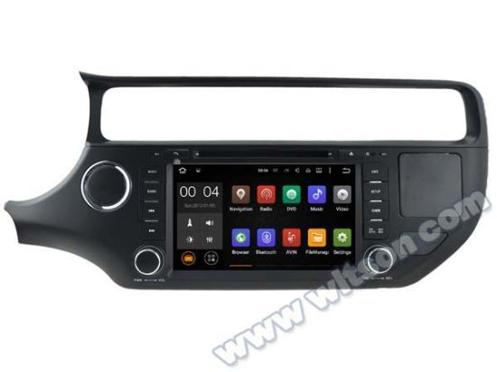 Witson Android 5.1 Car DVD GPS for KIA Rio 2015 with Chipset 1080P 16g ROM WiFi 3G Internet DVR Support (A5562) pictures & photos