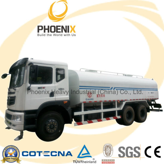 6X4 270HP 20cbm Dongfeng Water Tank Truck with Cummins Engine