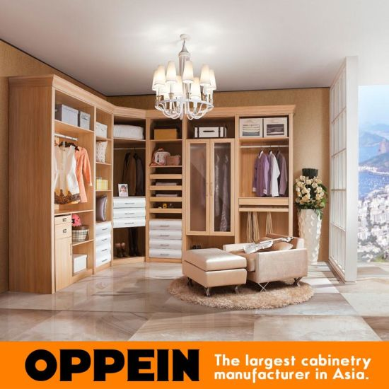 Guangzhou Manufacturer Multifunctional L-Shaped PVC Wooden Bedroom Closet Wardrobe (YG11426) pictures & photos
