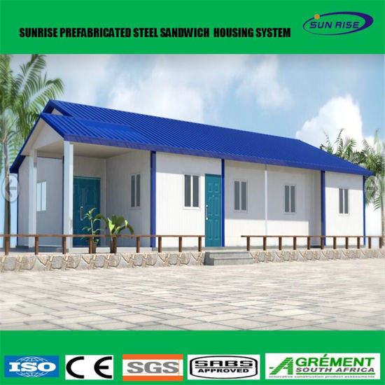 Attractive Low Cost Construction Prefabricated House Steel Frame Apartment Building