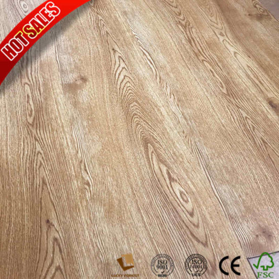 China U Groove Colorful Swiftlock Handscraped Hickory Laminate