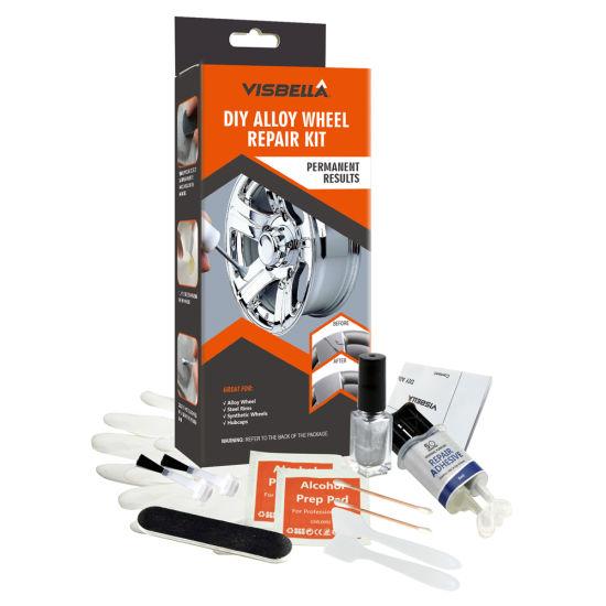 Visbella Easy Using DIY Car Alloy Wheel Repair Kit for Quick Repair