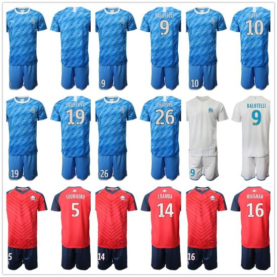 China Olympique De Marseille Soccer Jersey 2019 2020 Marseille