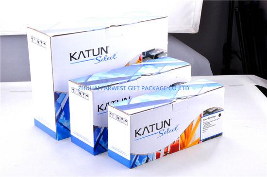 Good Design Corrugated Box E Flute for Toner Cartridge Packaging Ink Box Wholesale