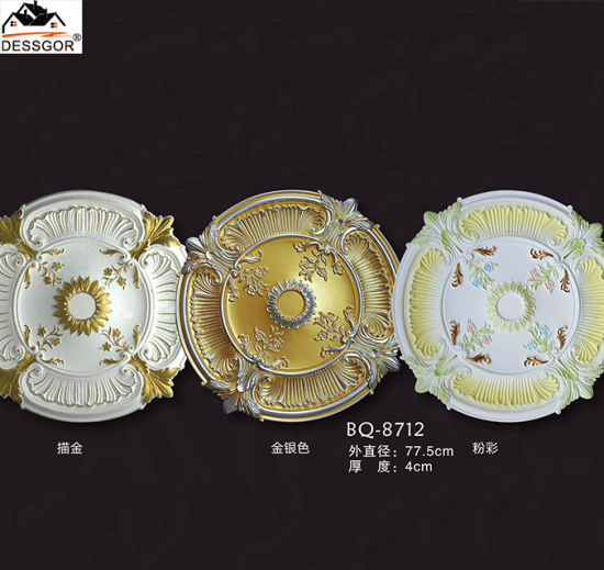 China Pu Moulding Ceiling Medallions