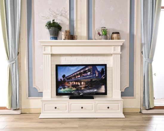 China Wall Tv Stand Model Home Furniture Fireplace With Mantel
