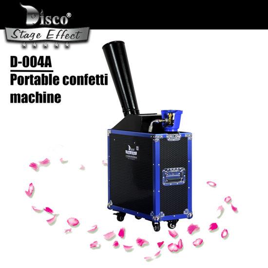 Disco Confetti Canon Weeding Party Paper Confetti Machine