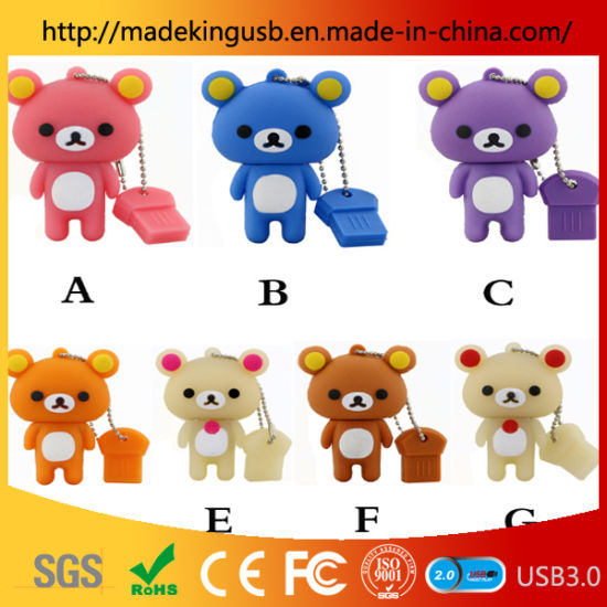 New Design USB Flash Momery 1GB-64GB/ PVC USB Flash Drive pictures & photos