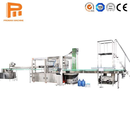 Complete Turnkey Project From a to Z Pure Water Beverage Drink Blow/ Fill/ Cap Filling Machine