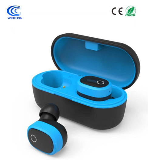 New Tws Wireless Stereo Sports Bluetooth Earphone Headset in-Ear Headphones
