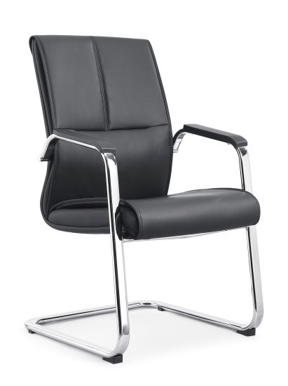 Office Visitor Chair PU Leather Office Chair-1987D