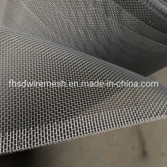 Stainless Steel/Bright Finished Aluminum Wire Mesh