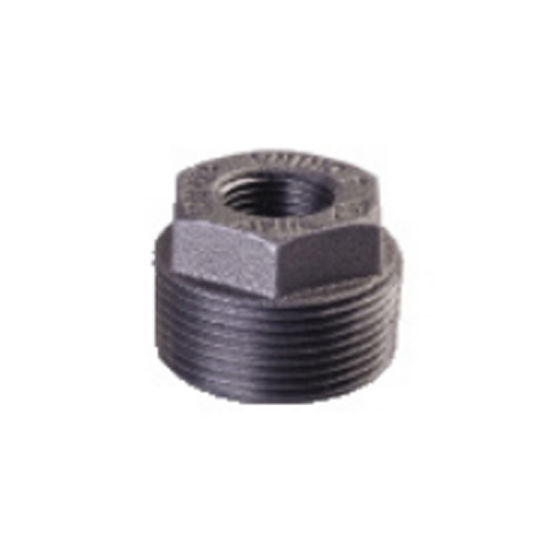 3/4'' Black Malleable Cast Iron Pipe Tee Fitting