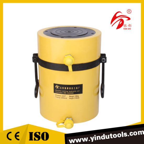200 Ton Double Acting Quick Oil Return Long Stroke Hydraulic Cylinder (RR-200200)