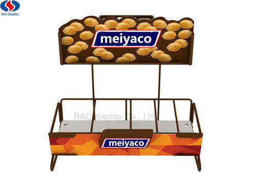Store Retail Tabletop Mini Wholesale Cheaper Display Stands Price Snacks Display Rack pictures & photos