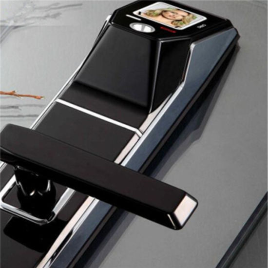 New Arrival Intelligent Smart Card Face Recognition Door Lock pictures & photos