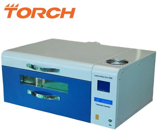 Small Leadfree Reflow Oven Desktop SMT Welding Oven T200c pictures & photos