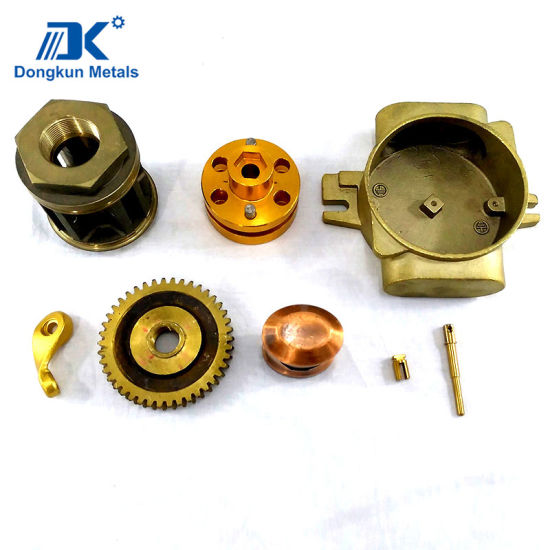 Customized Aluminium Copper Alloy Steel Investment Casting for Industry