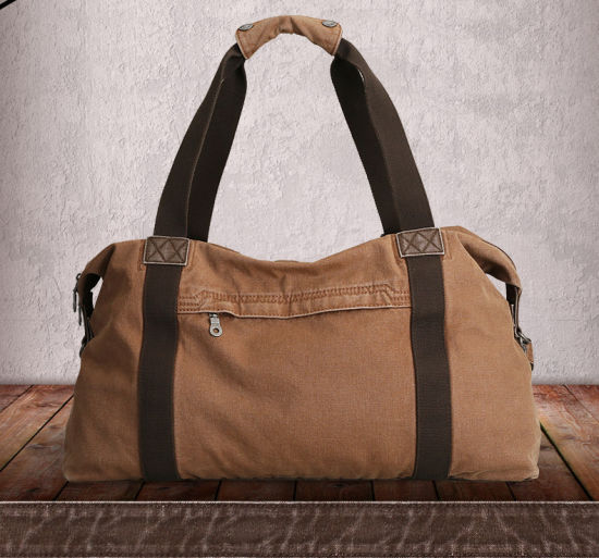 d70ec20a91b China Washed Canvas Travelling Bags Duffel Bag - China Bag
