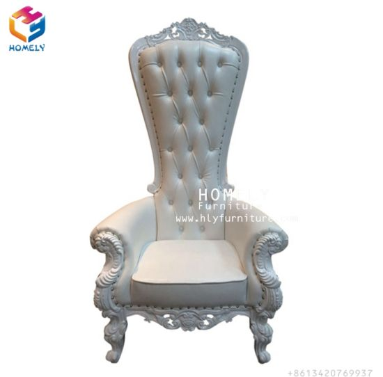 Popular Weddingthrone Foshan Homely Outddor King And Queen Chairs