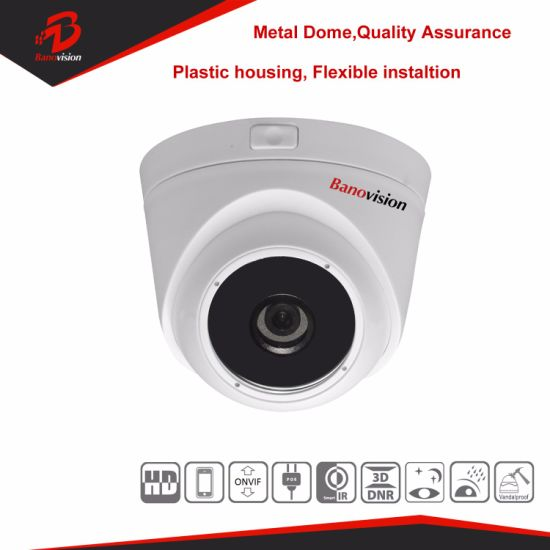 H. 265 5MP IP Network Dome Camera with Sony CMOS