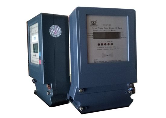 Relay-Equipped Three Phase Electronic Kwh/Energy/Power Meter (DTS150FA2)