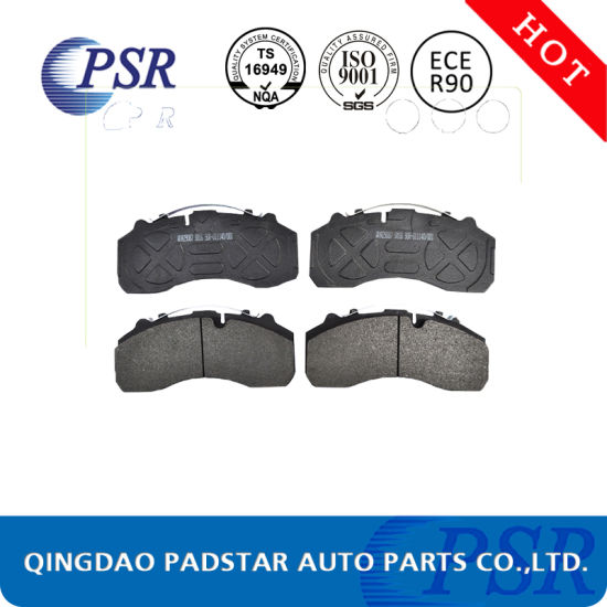 European Standard China Cost Wva29088 Truck Brake Pads for Mercedes-Benz pictures & photos