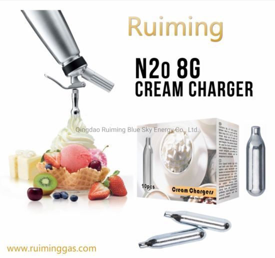 Mosa Cream Chargers Whipped Cream Dispensers 8g Cream Canisters