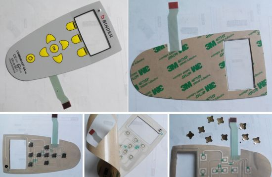 Binder Gas Measurement Membrane Switch Graphic Overlay Flexible Circuit pictures & photos