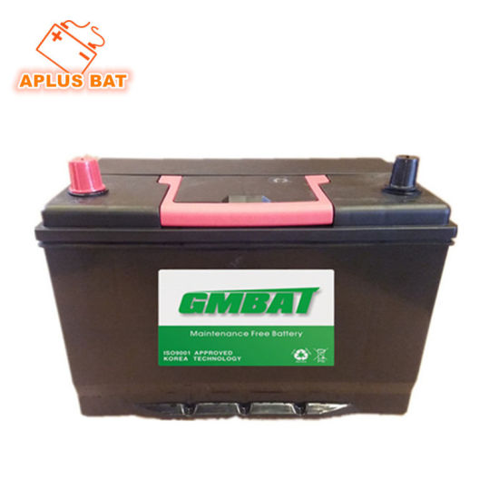 95D31L Nx120-7 12V80ah None Maintenance Storage Batteries for Janpanese Car