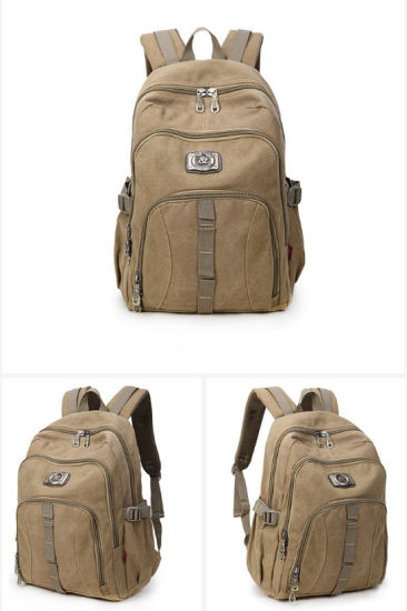 0122dce51abb China Three Colors Large-Capacity Canvas Travel Double Shoulder Bag ...
