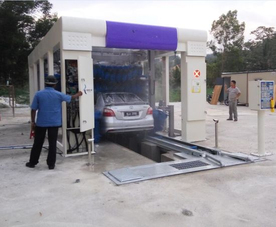 Automatic Drive Through Car Washing System Pictures Photos