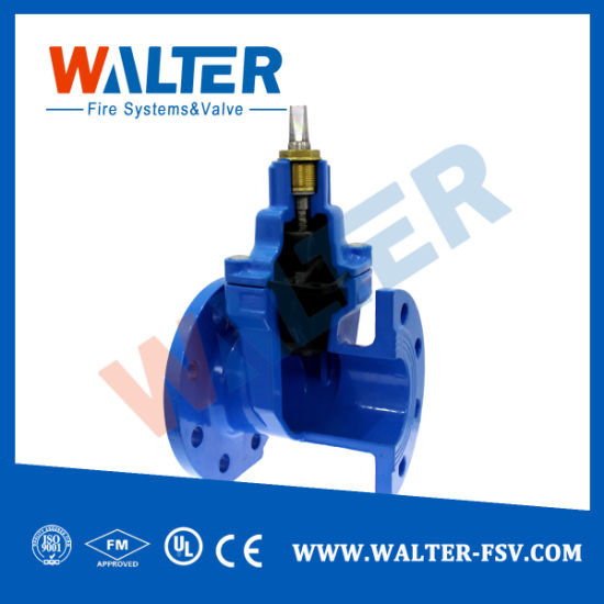Resilient Seat Nrs Gate Valve for Pump