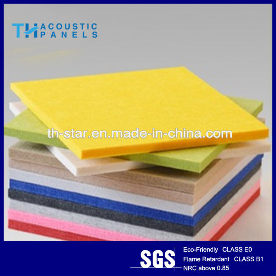 China Best Polyester Fiber Decorative Acoustic Wall Panel / Ceiling ...