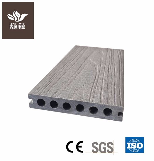Wholesale WPC Building Material Outdoor Extrusion Flooring Board