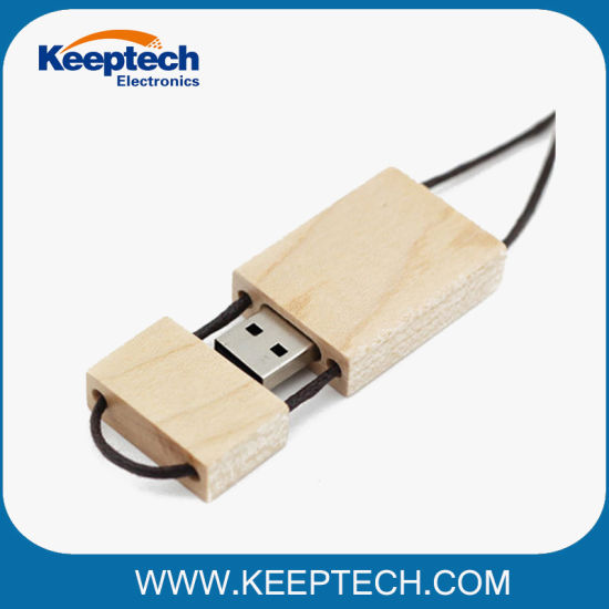 China Promotional Wooden Bamboo USB Flash Drive 16GB 32GB