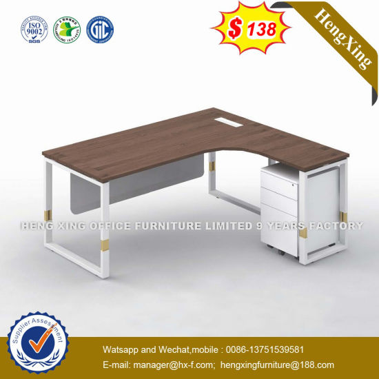 Coffee Table Attached Modest Panel Fob Term Executive Desk (HX-NT834) pictures & photos