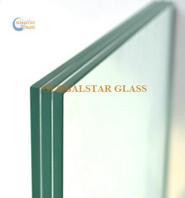 4.38mm 6.38mm 10.38mm 16.76mm 20.76mm Clear Tempered Safety Laminated Glass for Windows, Doors, Glass Railings, Furniture, Shower Doors, Balustrades