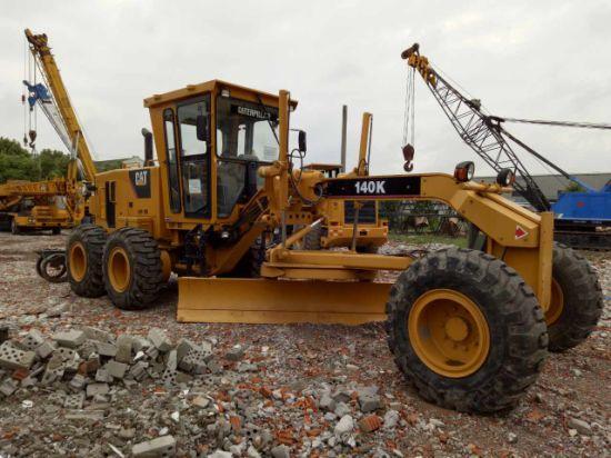 Used Cat 140K Motor Grader Caterpillar 140K Grader for Construction