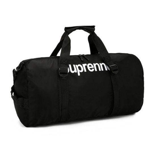 ead9b24984 High Quality Wholesale Waterproof Sport Foldable Travel Polyester Gym Bags  with Custom Logo Duffel