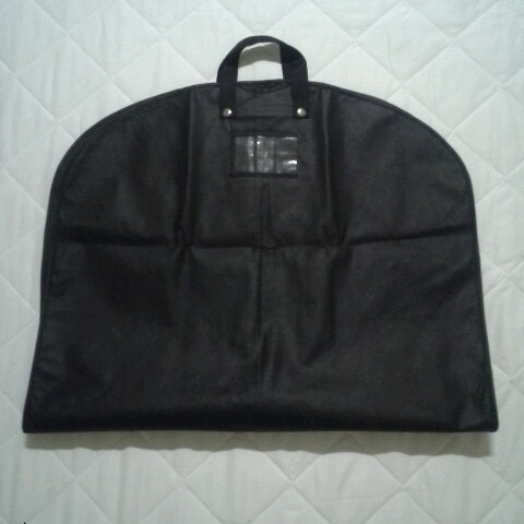 Hot Item Custom Non Woven And Polyester Wedding Dress Garment Suit Bag For
